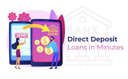 Direct Deposit Loans in Munites